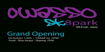 Owasso Sk8park Grand Opening