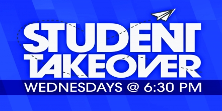 Student Takeover In Blue