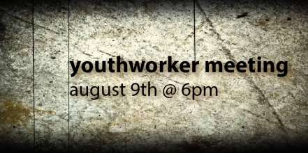 Youthworker Meeting 2017